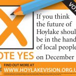 """""""Yes Campaign"""" leaflet"""